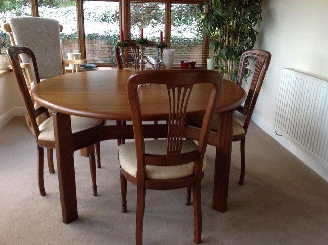 Cherry Wood Dining Tables And Chairs Second Hand Household