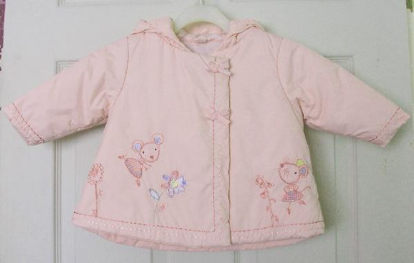 a33ad984cf0a Pretty Baby Girls Pink Coat By Next - Age 6 - 9 months For Sale in ...