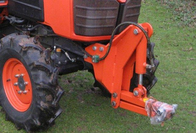 Preview of the first image of Kubota Snowblade (Snowplough) - as new, in Mid-Lincs.