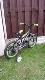 """Boys 16"""" Ben ten bike like new can deliver - £40"""