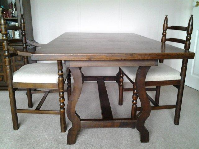 Dining Table Chairs And Sideboard Display Cabinet B