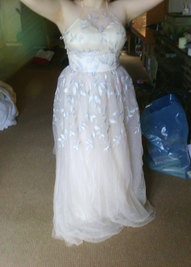 Preview of the first image of Chi chi of London,prom or bridesmaid dress.