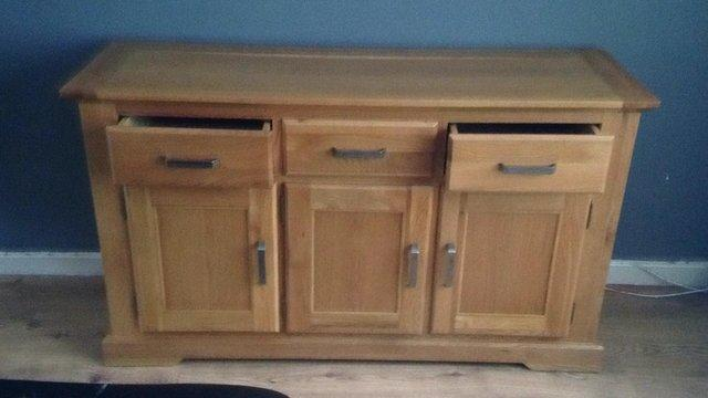 Sideboards from harveys local classifieds for sale in the uk and quality harveys oak sideboard and nest of tables watchthetrailerfo