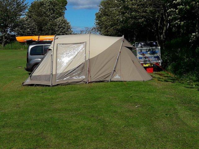 ... is hardly used and was purchased as a solid basec& tent for us to try a different type of c&ing as we have always used small lightweight tents ... & Used Tents Buy and Sell in the UK and Ireland | Preloved