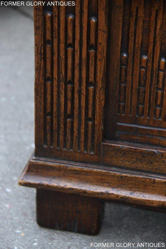 Image 11 of TITCHMARSH AND GOODWIN CARVED OAK BLANKET CHEST BOX COFFER