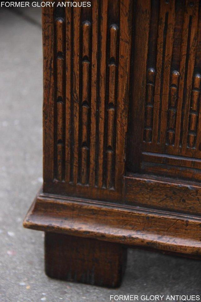 Image 14 of TITCHMARSH AND GOODWIN CARVED OAK BLANKET CHEST BOX COFFER