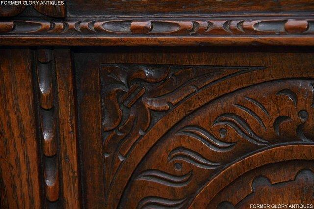 Image 47 of TITCHMARSH AND GOODWIN CARVED OAK BLANKET CHEST BOX COFFER