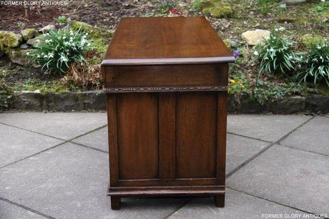 Image 54 of TITCHMARSH AND GOODWIN CARVED OAK BLANKET CHEST BOX COFFER
