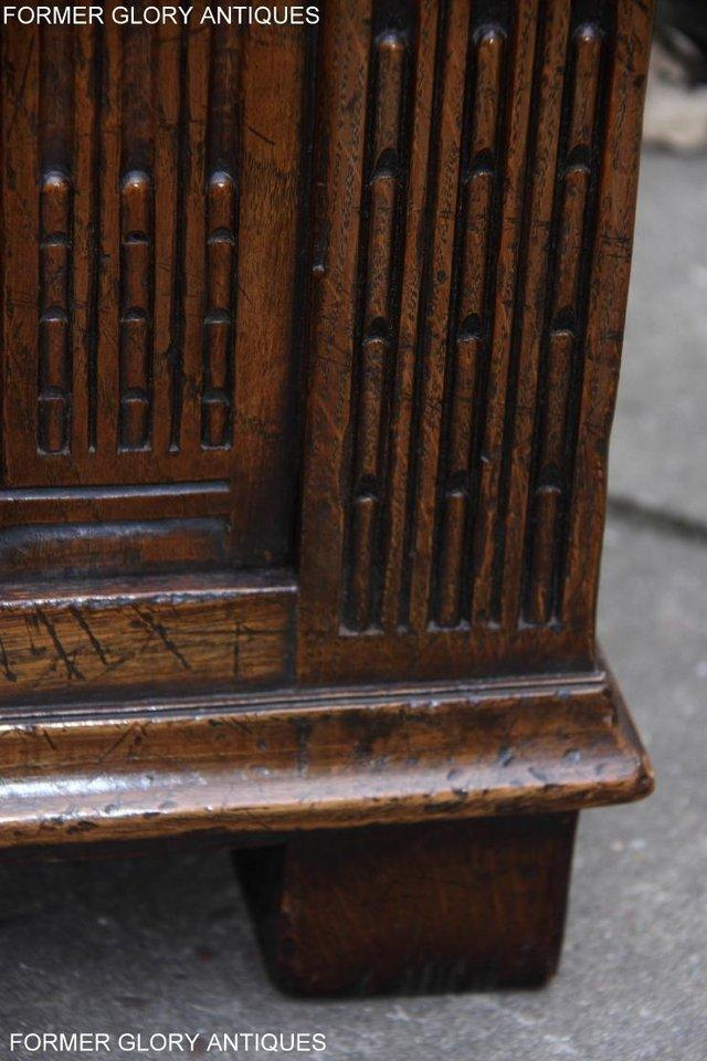 Image 73 of TITCHMARSH AND GOODWIN CARVED OAK BLANKET CHEST BOX COFFER
