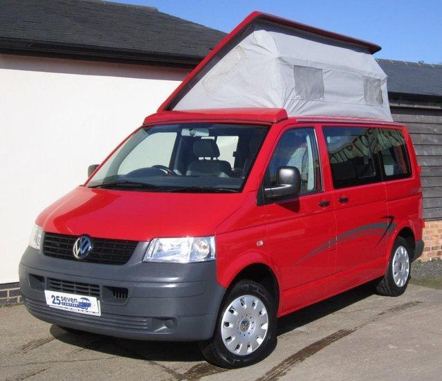 55f8465115 2007 (57) VW T5 Leisuredrive Crusader This VW T5 Campervan is being offered  for sale by 25seven Campers