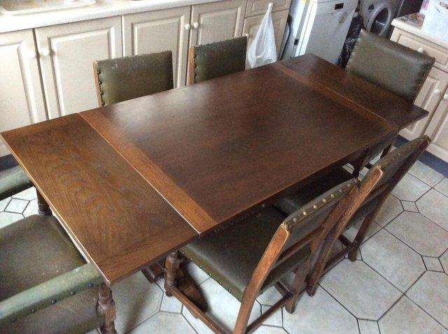 Jaycee Extending Table And Six Chairs For Sale In Wolverhampton West Midlands