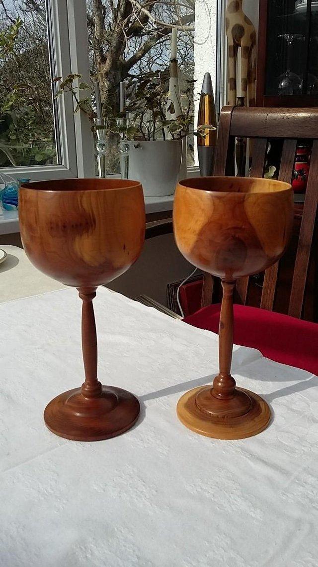Popular Wooden Wine Goblets For Sale