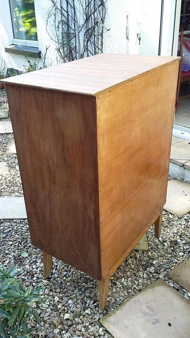 Image 6 of Mid Century Teak Chest of Drawers / Tall Boy by Wrighton