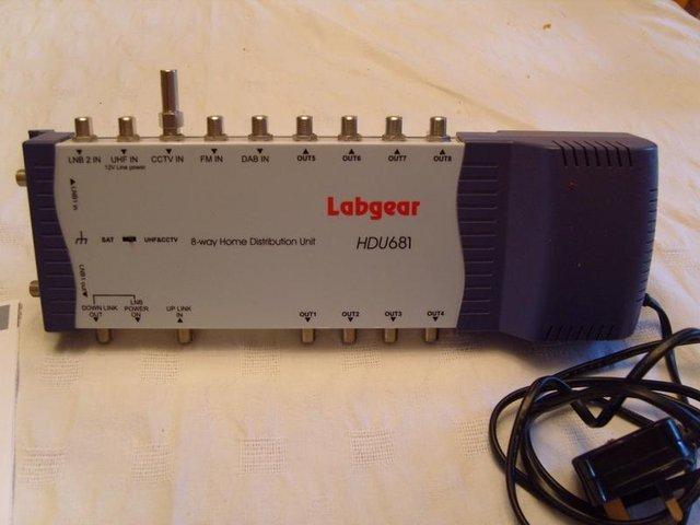 Image 3 of Labgear HDU681 - tv / radio / satellite distribution amp