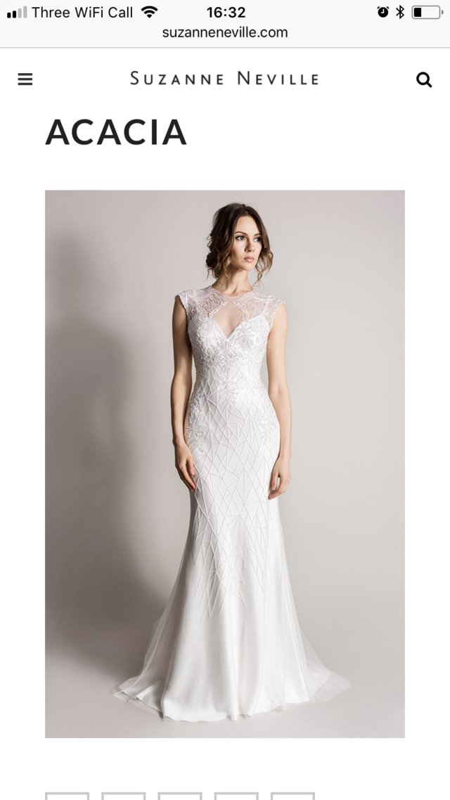 suzanne neville - Second Hand Wedding Clothes and Bridal Wear, Buy ...