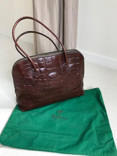 Genuine Mulberry Congo leather bag For Sale in Brighton de7e5d2a58795