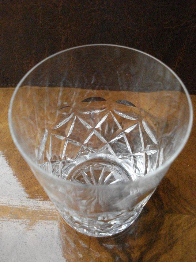 Image 2 of WHISKY TUMBLER ANTIQUE CUT GLASS STUART CRYSTAL STOURBRIDGE