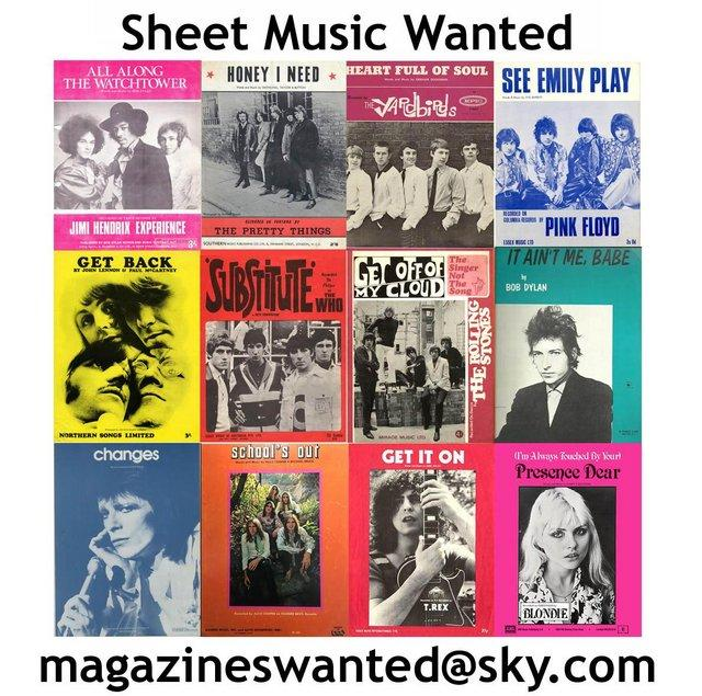 Second Hand Sheet Music, Buy and Sell | Preloved