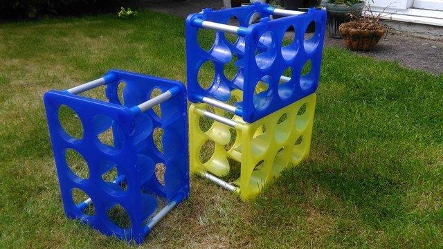 Image 3 of Stack-able wine racks