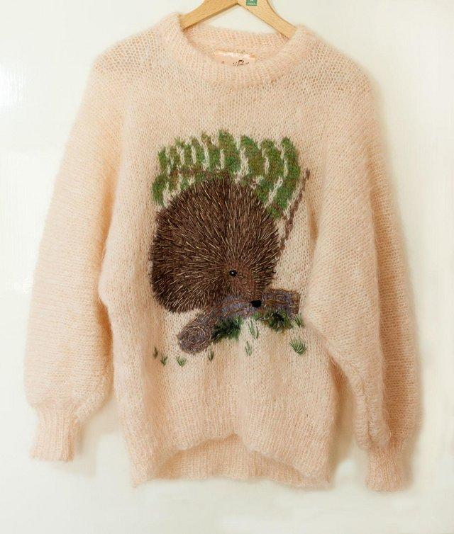 Preview of the first image of Luxury Mohair Jumper by Brigid Foley.