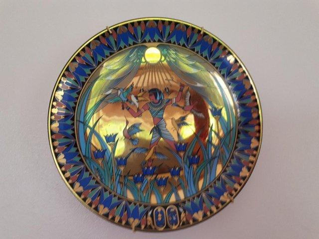 Preview of the first image of Limited Edition Treasures of the Nile Wall Plates 8.