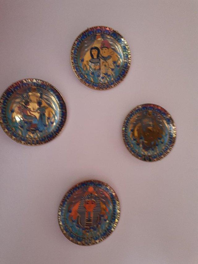 Image 2 of Limited Edition Treasures of the Nile Wall Plates 8