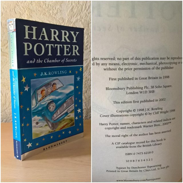 Harry Potter First Edition Books Second Hand Books Buy And Sell