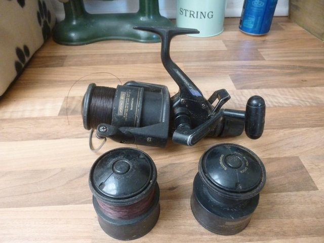 Image 16 of Assorted rods reels & 3 whips for sale