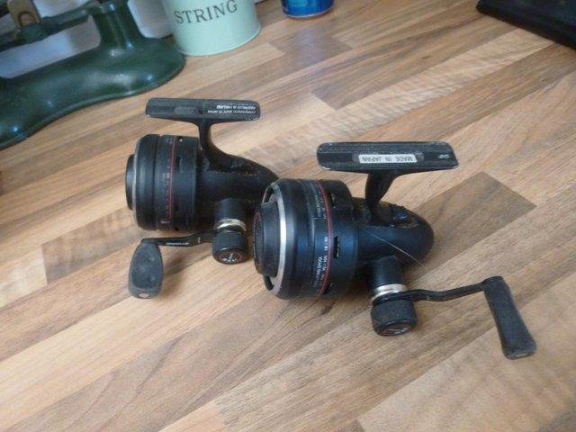 Image 20 of Assorted rods reels & 3 whips for sale