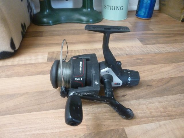 Image 21 of Assorted rods reels & 3 whips for sale