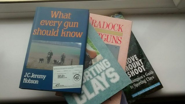 Preview of the first image of Clay Pigeon Shooting 4 Books.
