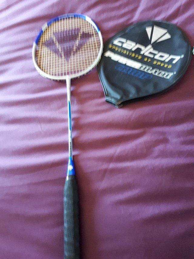 Preview of the first image of Carlton Powerblade Comp Badminton Racket.