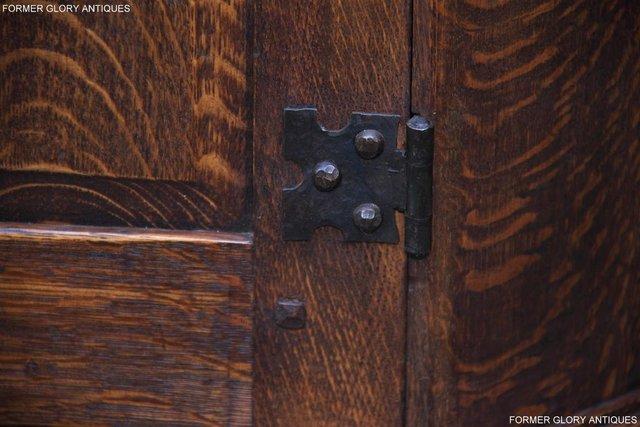 Image 93 of A NIGEL RUPERT GRIFFITHS CARVED OAK CORNER CABINET CUPBOARD