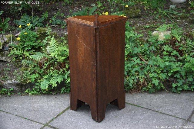 Image 102 of A NIGEL RUPERT GRIFFITHS CARVED OAK CORNER CABINET CUPBOARD
