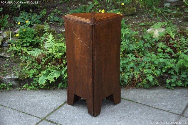 Image 104 of A NIGEL RUPERT GRIFFITHS CARVED OAK CORNER CABINET CUPBOARD