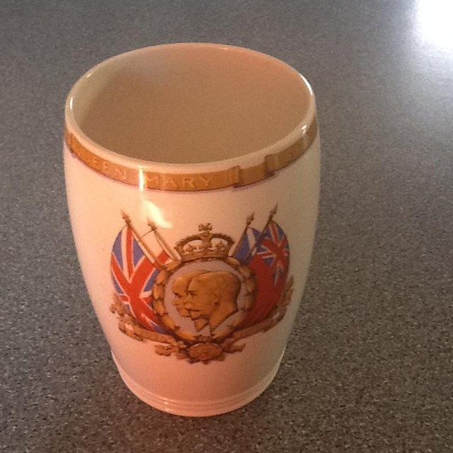 Preview of the first image of Spode Commemorative beaker Plymouth Uk connection.