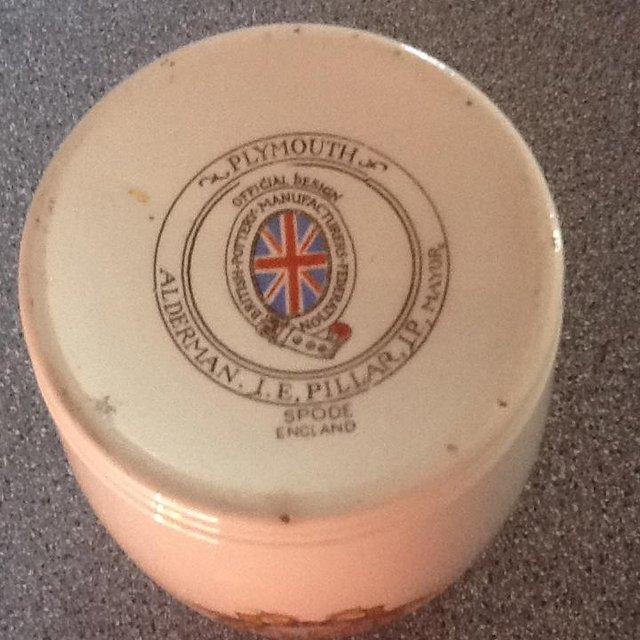 Image 3 of Spode Commemorative beaker Plymouth Uk connection