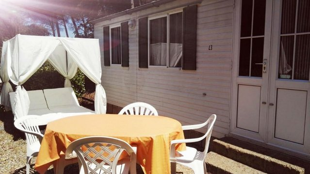 Preview of the first image of Mobile Homes to rent in Tuscany between Pisa and Florence.