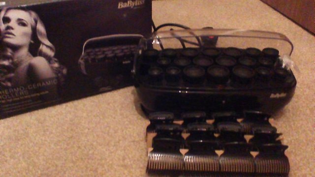 Preview of the first image of NEW - Babyliss Thermo-Ceramic Rollers.