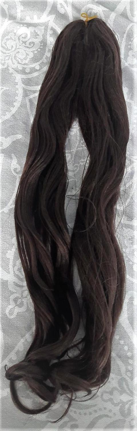 Long Dark Brownblack Wavy Hair Extensions For Sale In Chatham Kent