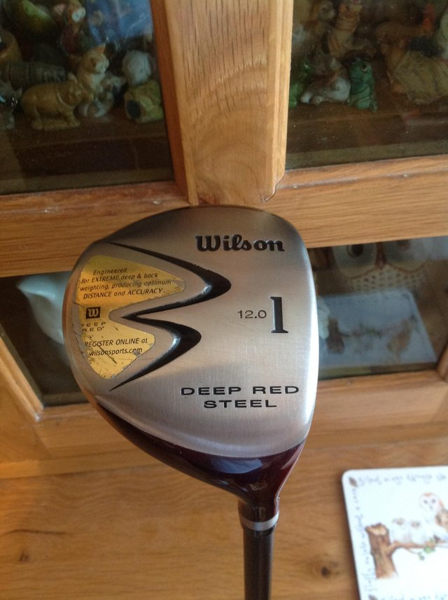 Preview of the first image of Wilson Deep Red Driver for Sale.