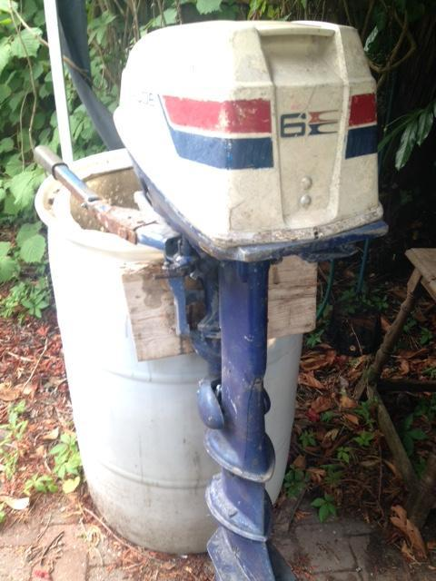 Evinrude 6hp Fisherman, Longshaft Breaking for spares For Sale in  Cuckfield, West Sussex | Preloved