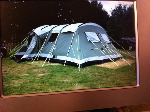 Preview of the first image of Outwell Montana 12 Man Tent.