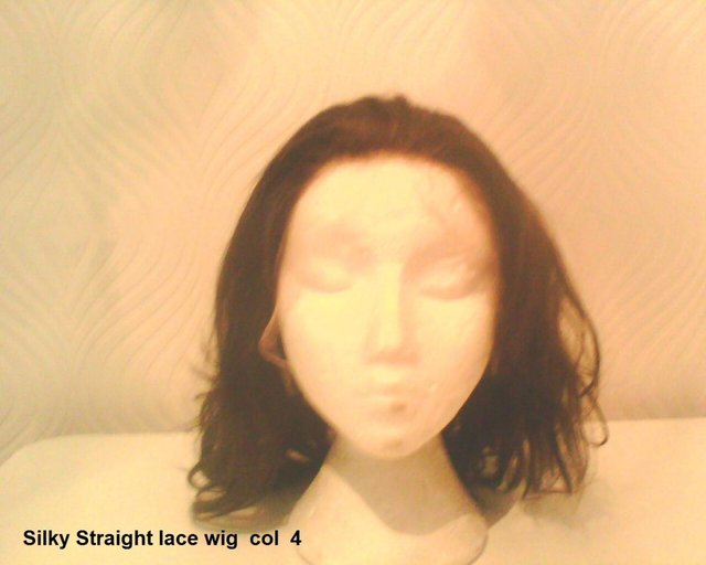 Image 2 of SILKY LACE FRONT WIG - HUMAN HAIR