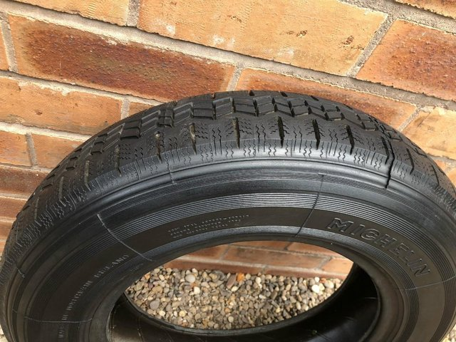 Preview of the first image of MICHELIN 'X' RADIAL TYRE 155 x 14.