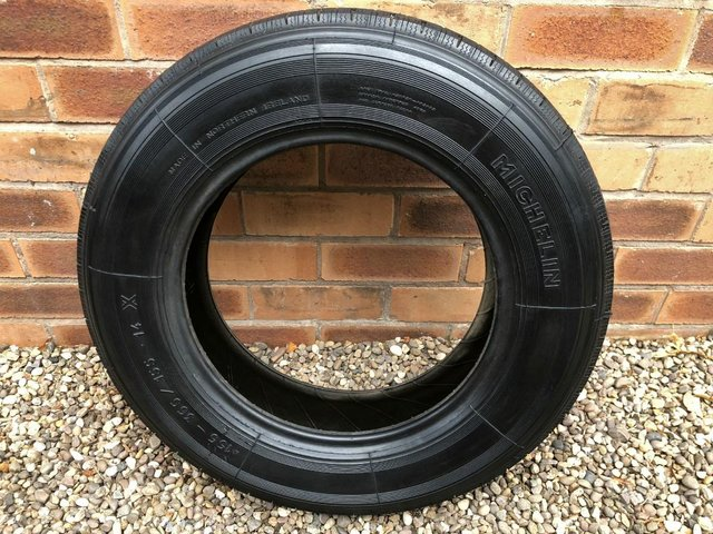Image 2 of MICHELIN 'X' RADIAL TYRE 155 x 14