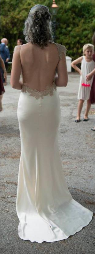 Backless Wedding Dresses Second Hand Wedding Clothes Bridal Wear For Sale Preloved,Wedding Bathing Suit Dress