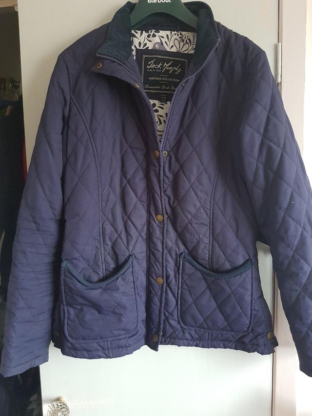 Preview of the first image of Jack Murphy Quilted Jacket Size 10.