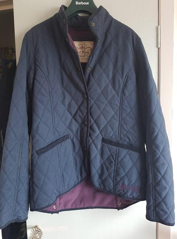 Preview of the first image of Jack Murphy Quilted Jacket with Fleece Lining Size 10.