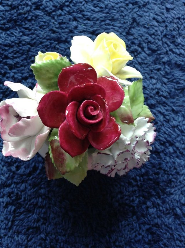 Image 2 of Royal Doulton bone china posy bowl ornament
